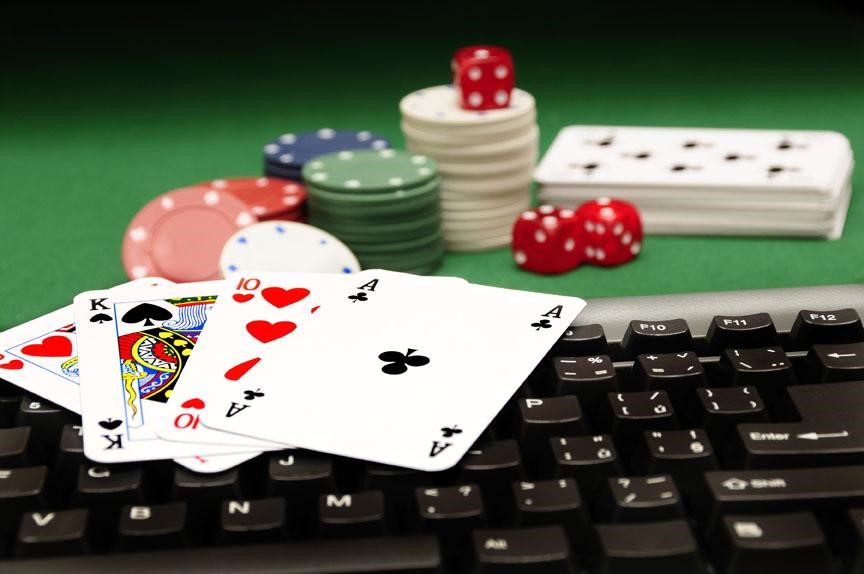 Online Poker and Wall Street