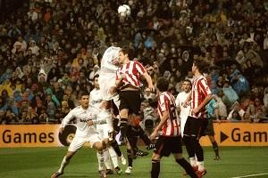 Sergio Ramos es uno de los mejores futbolistas en el remate de cabeza.