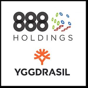 888 Casino ofrecerá contenido de Yggdrasil